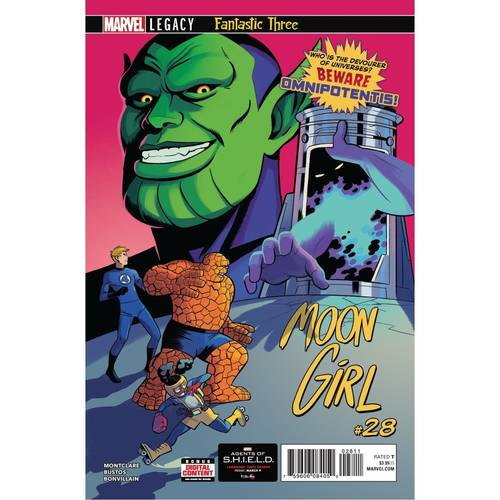 MOON GIRL 28 KEY ISSUE