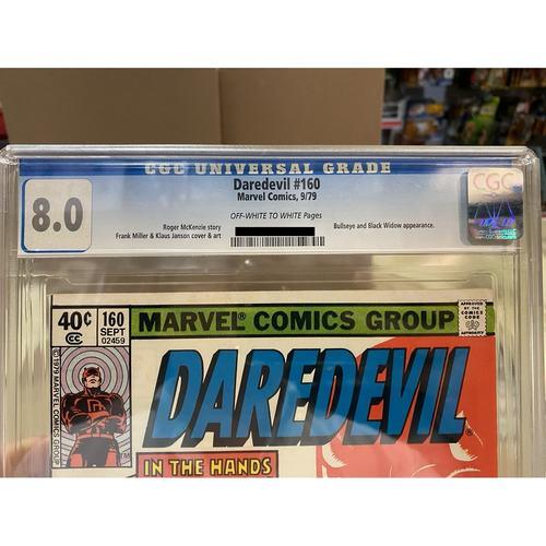 Daredevil 160 CGC 8.0