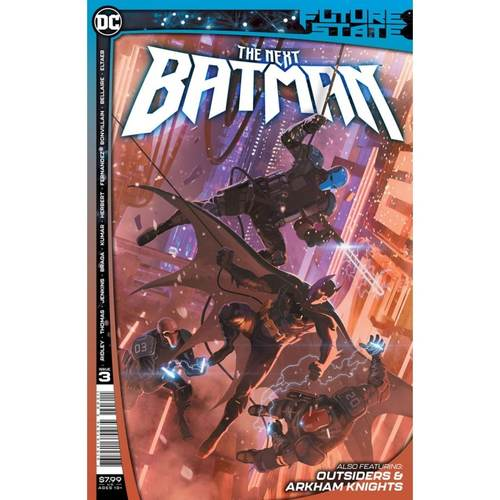 FUTURE STATE THE NEXT BATMAN 3 OF 4 CVR A LADRONN