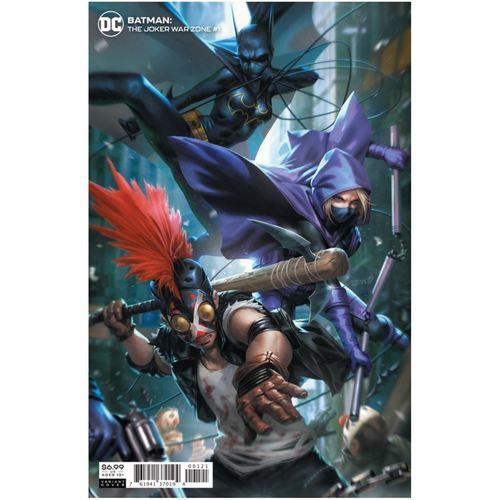 BATMAN THE JOKER WAR ZONE #1 (ONE SHOT) CVR B DERRICK CHEW CARD STOCK VAR (JOKER WAR)