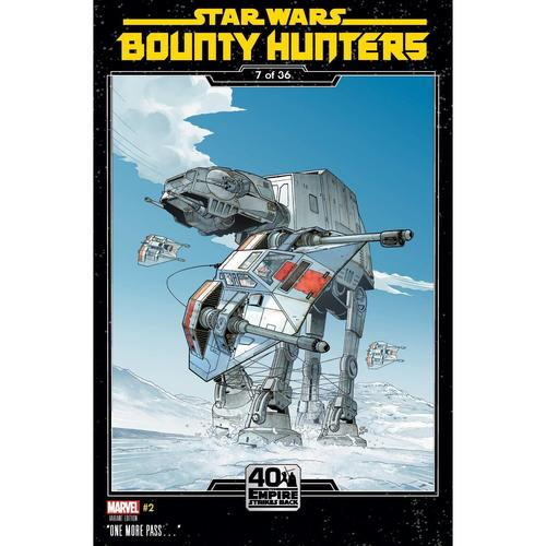 STAR WARS BOUNTY HUNTERS 2 SPROUSE EMPIRE STRIKES BACK VAR