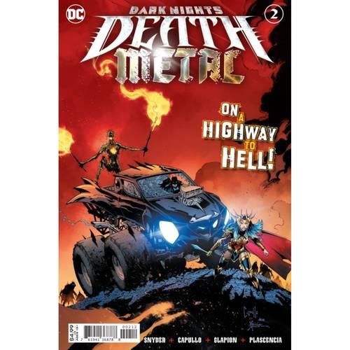 DARK NIGHTS DEATH METAL 2 OF 6 Second printing