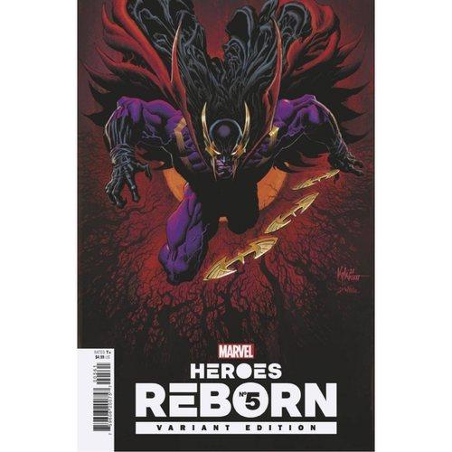 Heroes Reborn #5 1:25 Hotz Variant