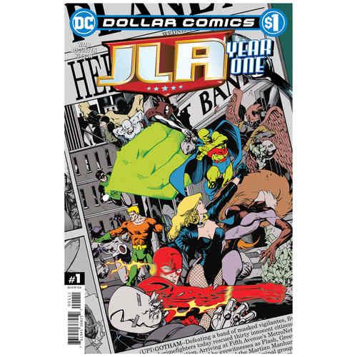 DOLLAR COMICS JLA YEAR ONE 1