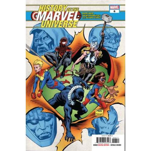 HISTORY OF MARVEL UNIVERSE 6 OF 6