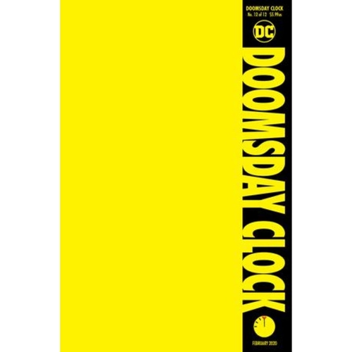 DOOMSDAY CLOCK 12 OF 12 BLANK VAR ED