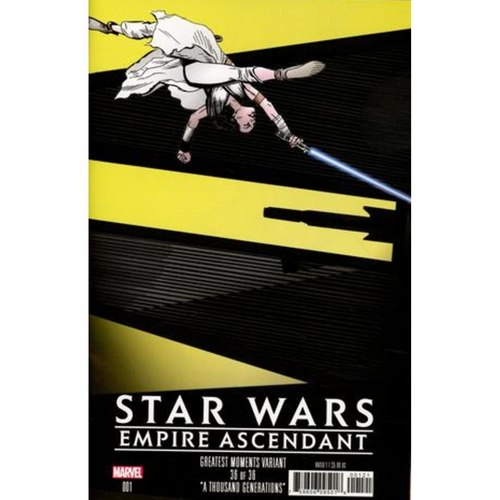 STAR WARS EMPIRE ASCENDANT 1 GOLDEN GREATEST MOMENTS VAR