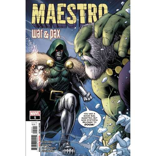 MAESTRO WAR AND PAX #5 (OF 5)