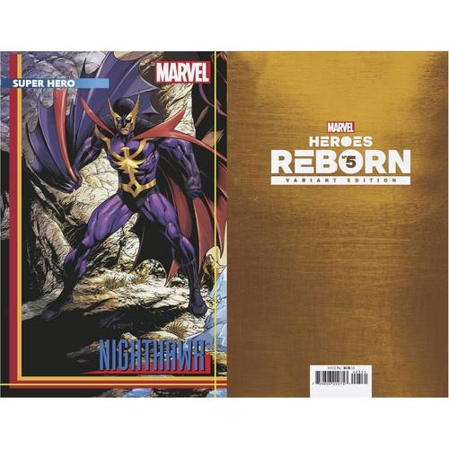 HEROES REBORN #5 (OF 7) BAGLEY CONNECTING TRADING CARD VAR