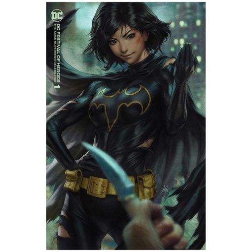 DC FESTIVAL OF HEROES THE ASIAN SUPERHERO CELEBRATION #1 (ONE SHOT) CVR B STANLEY ARTGERM LAU VAR