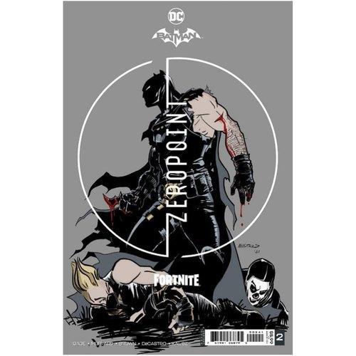 BATMAN FORTNITE ZERO POINT #2 (OF 6) PREMIUM VAR B DONALD MUSTARD CARD STOCK (25 COPY MIN ORDER)