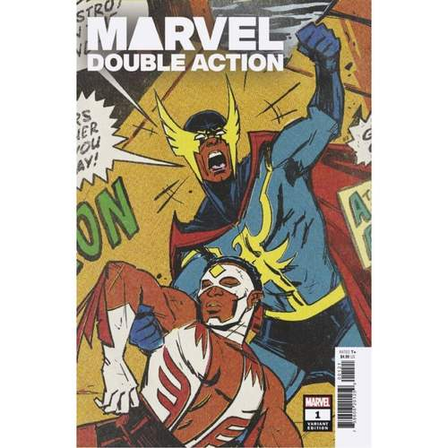 HEROES REBORN MARVEL DOUBLE ACTION #1 WU VAR