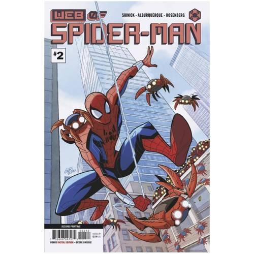 WEB OF SPIDER-MAN #2 (OF 5) 2ND PTG VAR