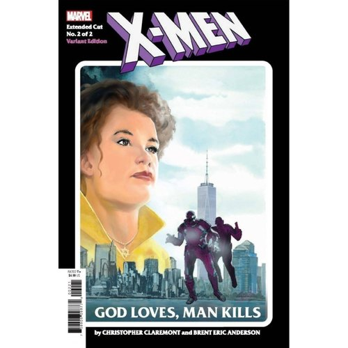 X-MEN GOD LOVES MAN KILLS EXTENDED CUT #2 (OF 2) ANDERSON VA