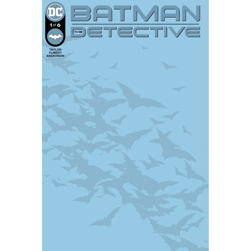 BATMAN THE DETECTIVE #1 (OF 6) CVR C BLANK CARD STOCK VAR