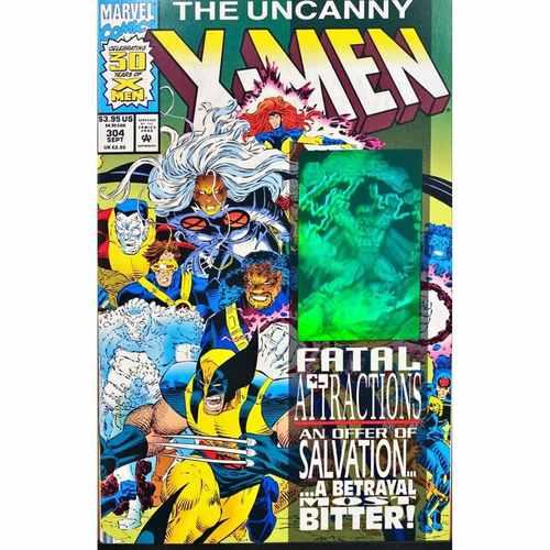UNCANNY X-MEN # 304 * HOLOGRAM COVER * MARVEL COMICS *