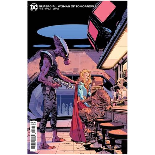 SUPERGIRL WOMAN OF TOMORROW #2 (OF 8) CVR B LEE WEEKS VAR