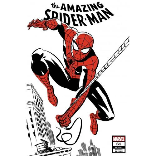 AMAZING SPIDER-MAN #61 MICHAEL CHO SPIDER-MAN TWO-TONE VAR