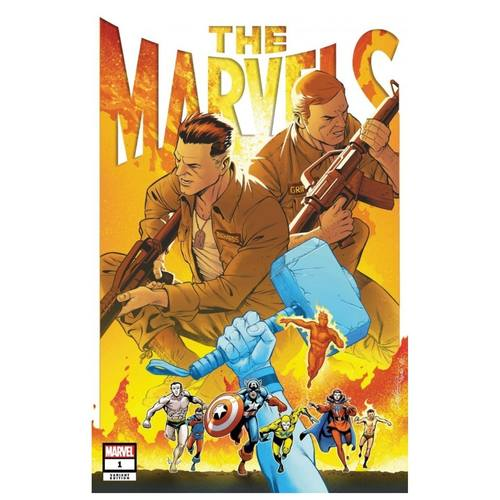 THE MARVELS #1 PACHECO VAR