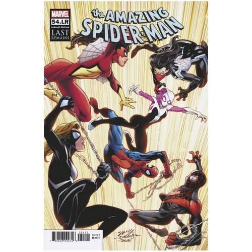 AMAZING SPIDER-MAN #54.LR BAGLEY VAR