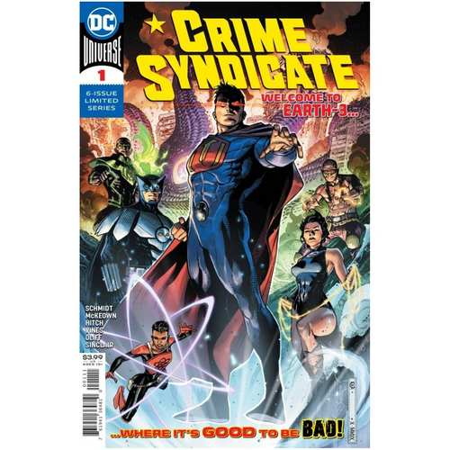 CRIME SYNDICATE #1 CVR A JIM CHEUNG