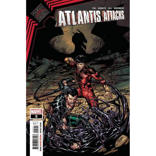 ATLANTIS ATTACKS #5 (OF 5) KIB