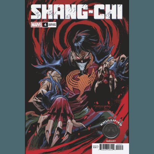 SHANG-CHI #4 (OF 5) RANDOLPH KNULLIFIED VAR