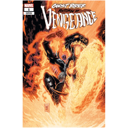 GHOST RIDER RETURN OF VENGEANCE #1 TAN VAR