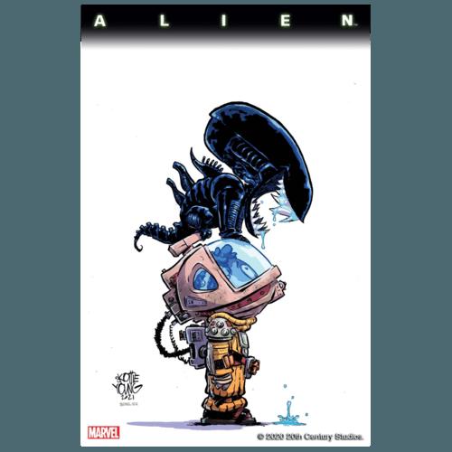 ALIEN #1 YOUNG VAR