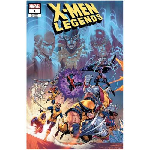 X-MEN LEGENDS #1 COELLO CONNECTED VAR