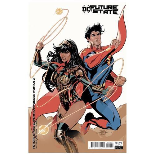 FUTURE STATE SUPERMAN WONDER WOMAN #2 (OF 2) CVR B TERRY DODSON & RACHEL DODSON CARD STOCK VAR