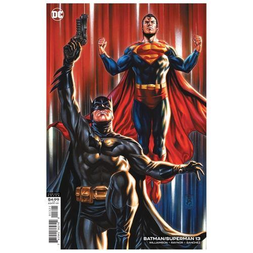 BATMAN SUPERMAN #13 CVR B MARK BROOKS CARD STOCK VAR