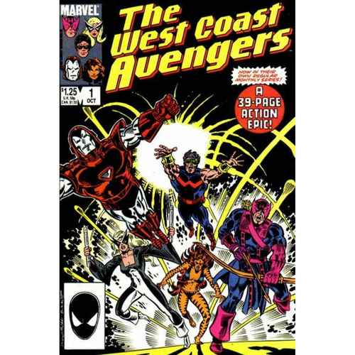THE WEST COAST AVENGERS #1