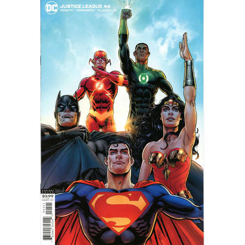 JUSTICE LEAGUE #44 NICOLA SCOTT VAR ED