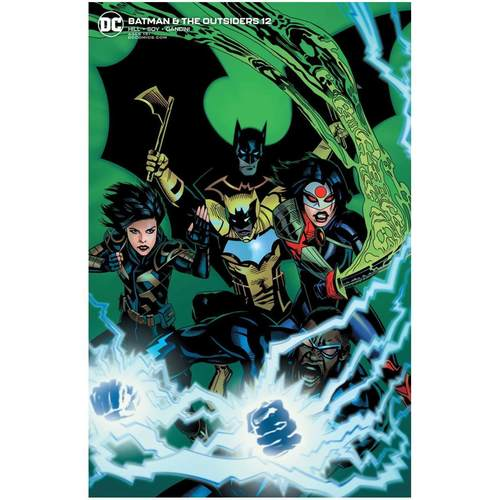 BATMAN AND THE OUTSIDERS #12 MICHAEL GOLDEN VAR ED