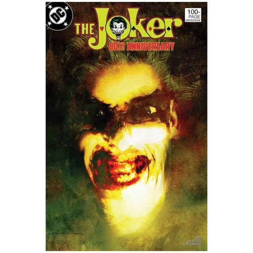 THE JOKER 80TH ANNIVERSARY 100-PAGE SUPER SPECTACULAR #1 1980S VARIANT COVER BY BILL SIENKIEWICZ