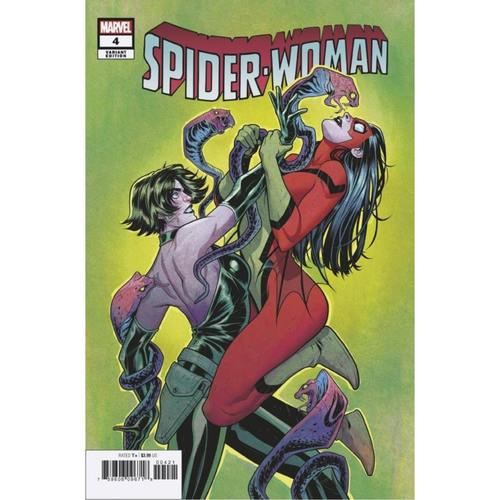 SPIDER-WOMAN #4 TORQUE VILLAIN VAR