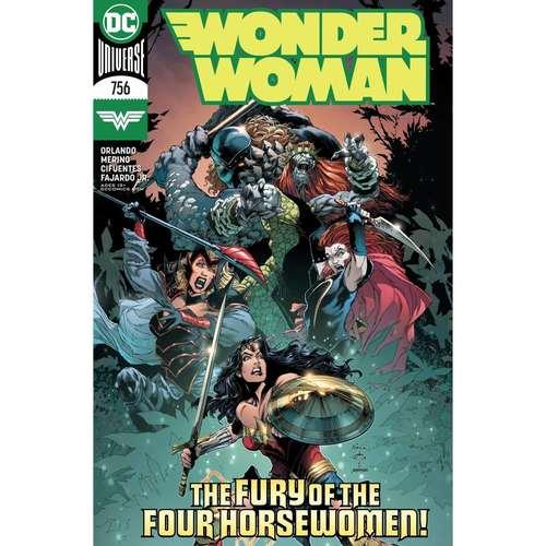 WONDER WOMAN #756