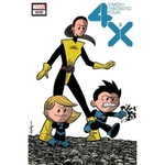 X-MEN FANTASTIC FOUR 3 OF 4 ELIOPOULOS VAR