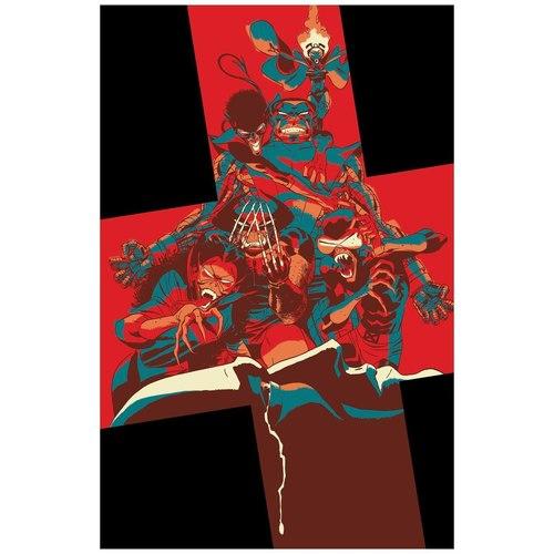 NEW MUTANTS 9 MARTIN GOD LOVES MAN KILLS VAR DX