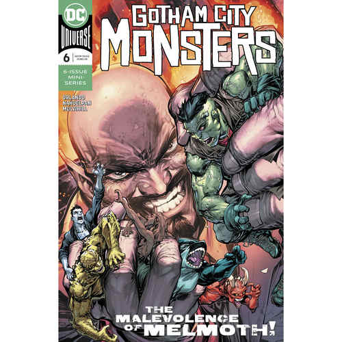 GOTHAM CITY MONSTERS 6 OF 6