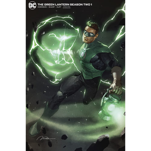 GREEN LANTERN SEASON 2 1 OF 12 GERALD PAREL VAR ED