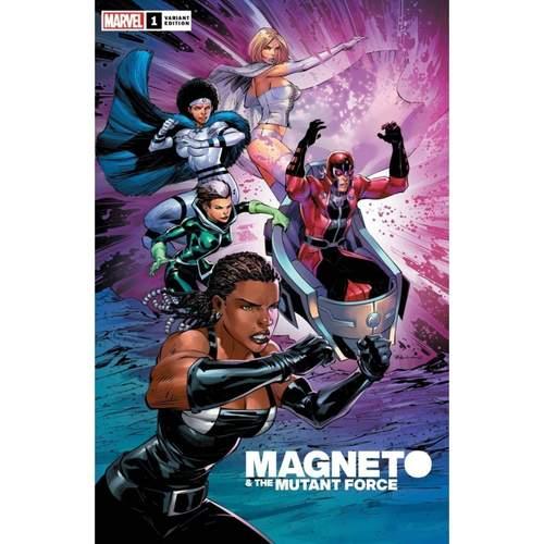 HEROES REBORN MAGNETO AND MUTANT FORCE #1 BENJAMIN VAR