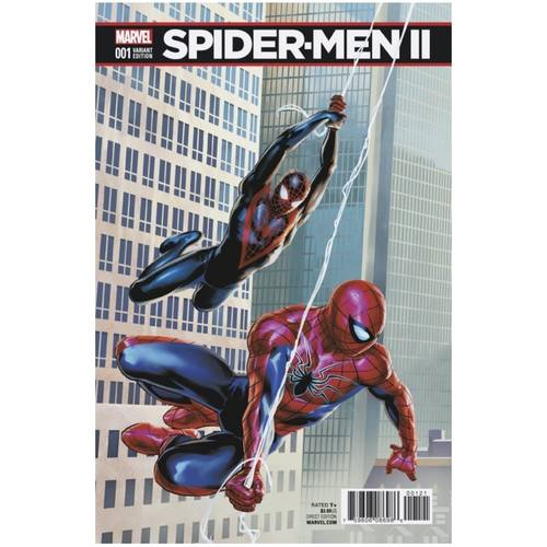SPIDER-MEN II #1 CONNECTING VARIANT
