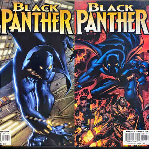 BLACK PANTHER #1 AND #2 (MARVEL KNIGHTS)