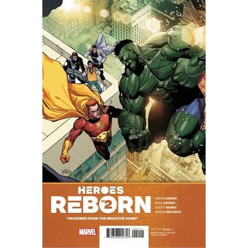 HEROES REBORN #2 (OF 7)