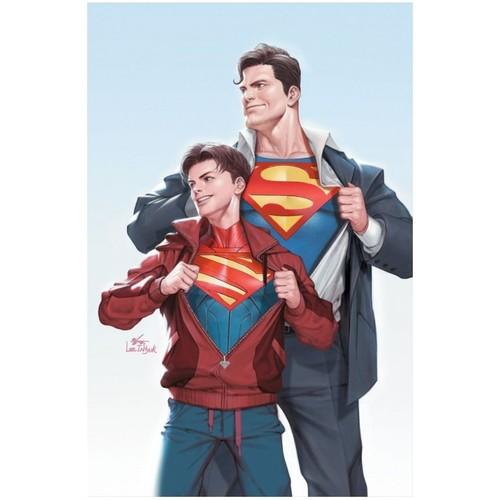 SUPERMAN #32 CVR B INHYUK LEE CARD STOCK VAR