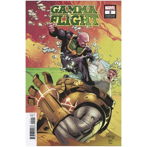 GAMMA FLIGHT #2 (OF 5) PACHECO CONNECTING VAR
