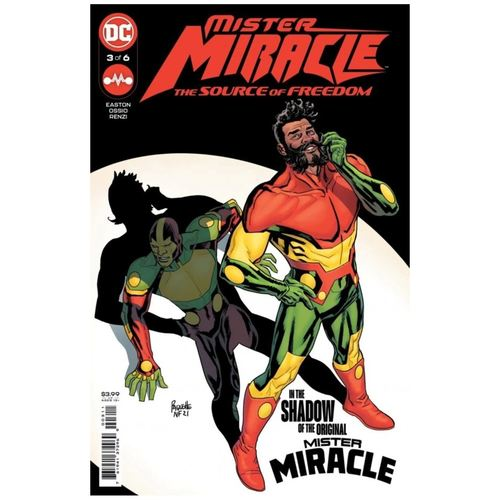 MISTER MIRACLE THE SOURCE OF FREEDOM #3 (OF 6) CVR A YANICK PAQUETTE