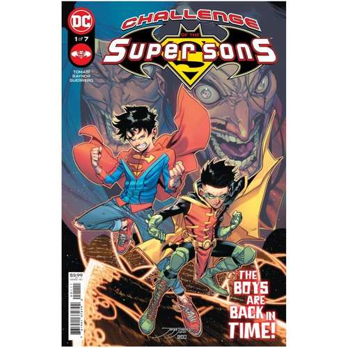 CHALLENGE OF THE SUPER SONS #1 (OF 7) CVR A JORGE JIMENEZ